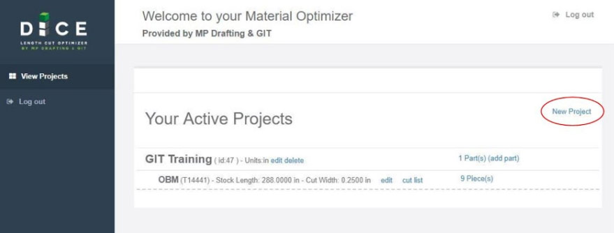 Cut List Optimizer Training